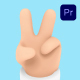 3D Hand Gestures for Premiere Pro - VideoHive Item for Sale