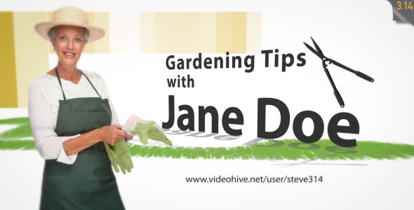 gardening landscaping intro tv show by steve314 videohive