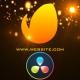 Red Electric Cinematic Logo Revealer - DaVinci Resolve - VideoHive Item for Sale