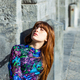 portrait of a woman with red hair and freckles - PhotoDune Item for Sale