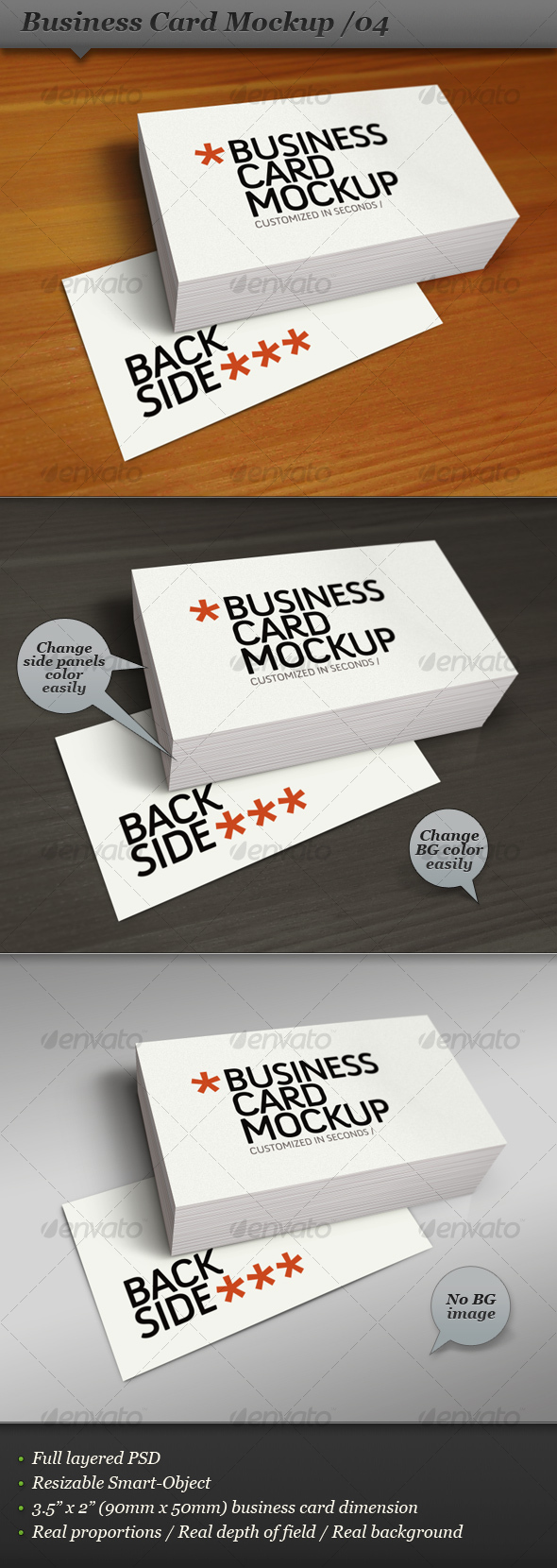 Business card mockup display smart template 04 by ranfirefly business card mockup display smart template 04 business cards print wajeb
