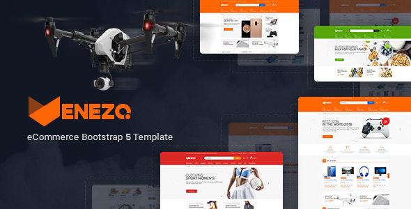 Venezo - Electronics Sports Shop HTML Template