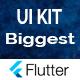 UI KIT - The Biggest Flutter UI Widgets Components Pack