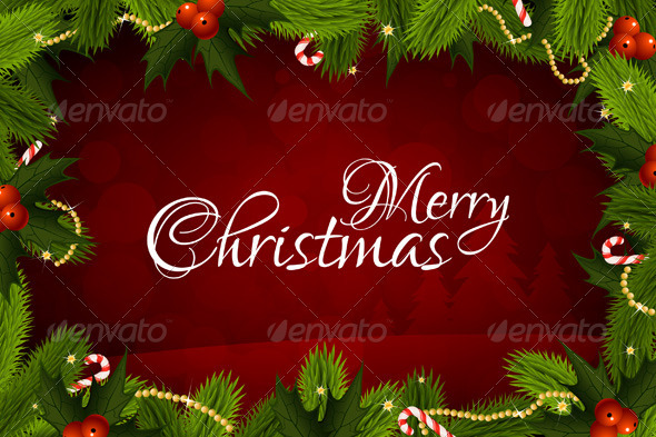 Merry christmas greeting card by vvad graphicriver merry christmas greeting card christmas seasonsholidays m4hsunfo