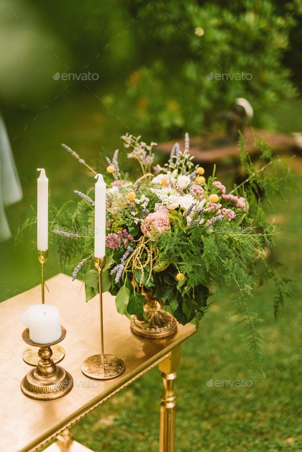 Wedding decor - Stock Photo - Images