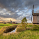 Three Traditional wooden windmills - PhotoDune Item for Sale