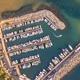 Marina top down aerial view crop - PhotoDune Item for Sale