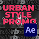 Urban Style Promo - VideoHive Item for Sale
