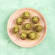 Matcha tea energy balls with nut butter and dried fruit - PhotoDune Item for Sale