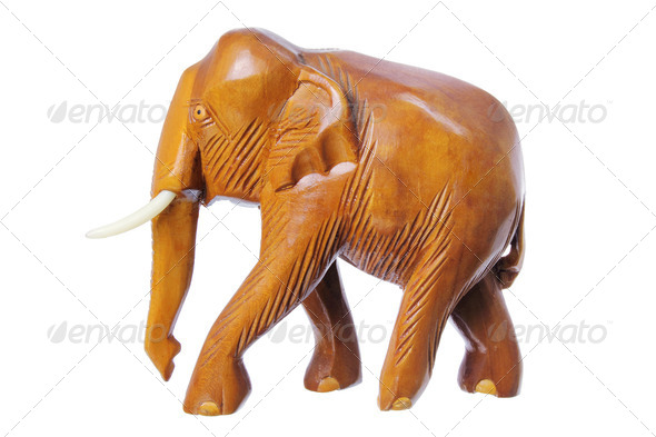 Elephant Figurine - Stock Photo - Images