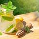 Fresh homemade lemonade with lemon and mint - PhotoDune Item for Sale