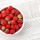 Strawberry bowl with ripe garden berries - PhotoDune Item for Sale