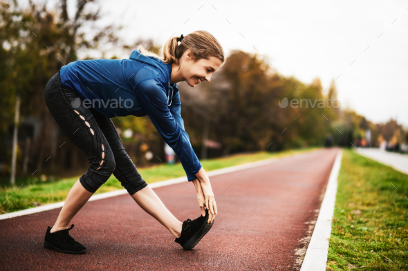 Outdoor exercise - Stock Photo - Images