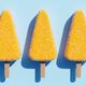 Lemon popsicles background. - PhotoDune Item for Sale