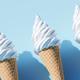 Soft serve ice cream in a cone - PhotoDune Item for Sale