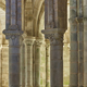 Romanesque style columns in Carboeiro monastery in Galicia, Spain - PhotoDune Item for Sale