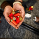Male hunter hands holds cartridges in gun store - PhotoDune Item for Sale