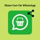 Magento 2 Share Cart On Whatsapp By Webiators
