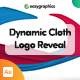 Dynamic Cloth Logo Reveal - VideoHive Item for Sale