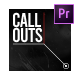 Call Outs MOGRTs - VideoHive Item for Sale