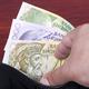 Albanian money in the black wallet - PhotoDune Item for Sale
