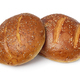 Pair of traditional Moroccan krachel rolls on white background - PhotoDune Item for Sale