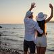 Happy couple in love on honeymoon vacation travel - PhotoDune Item for Sale