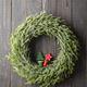 Christmas Wreath Hanging On The Door. - PhotoDune Item for Sale