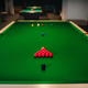 placing snooker balls on a green billiard table - PhotoDune Item for Sale
