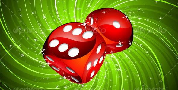 Casino dices - Miscellaneous Vectors