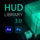 HUD Library update 3.0 - VideoHive Item for Sale