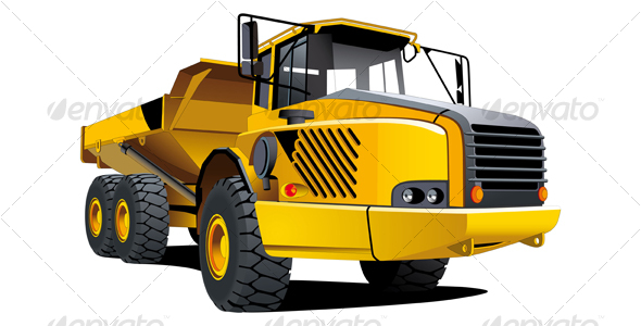 Yellow dumper - Industries Business