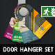 DOA Door Hanger Set 01 - GraphicRiver Item for Sale