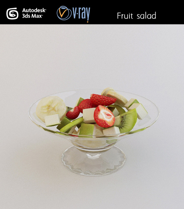 Fruit salad - 3DOcean Item for Sale