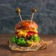 Funny monster chicken burger - PhotoDune Item for Sale