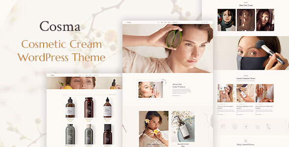 Download Cosma – Beauty and Cosmetics Shop Free Nulled
