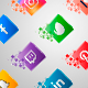 Animated 3D Social Media Icons - VideoHive Item for Sale