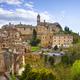 Montepulciano skyline village. Siena, Tuscany Italy - PhotoDune Item for Sale