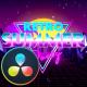 Retro Summer Party Opener - DaVinci Resolve - VideoHive Item for Sale