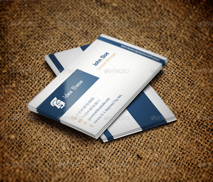 Classic Business Card v3 by OWPictures | GraphicRiver