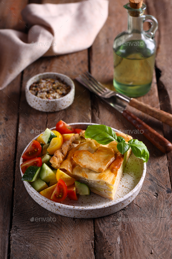 Homemade Meat Pie - Stock Photo - Images