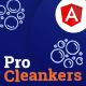 Procleankers | Laundry Services Angular Template