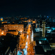 High-altitude aerial view of the city at night - PhotoDune Item for Sale