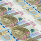 Banknotes of 500 pln laying in a row - PhotoDune Item for Sale