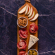 Serving board with meat and cheese snacks. - PhotoDune Item for Sale