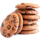 Stack of oatmeal cookies with chocolate - PhotoDune Item for Sale