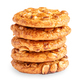 Stack of oatmeal cookies with nuts - PhotoDune Item for Sale