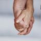 Senior Couple Holding Hands Closeup - PhotoDune Item for Sale