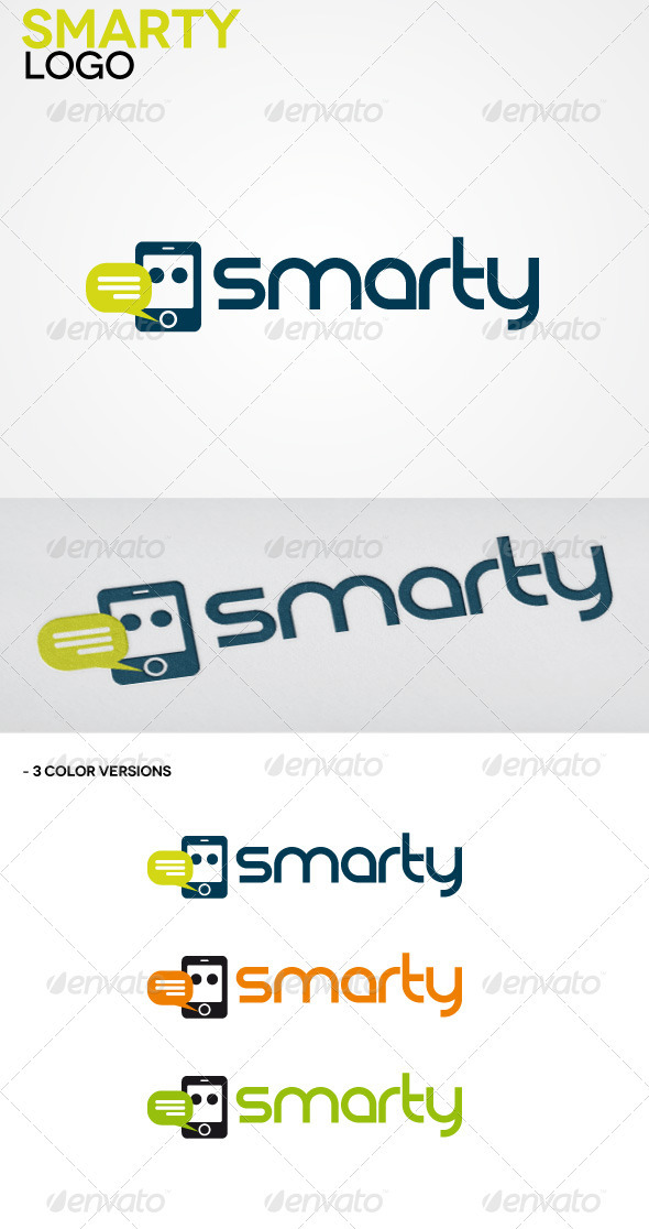 Smarty Clean Logo - Objects Logo Templates