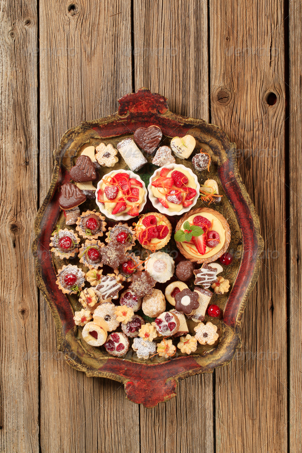 Assorted cookies - Stock Photo - Images